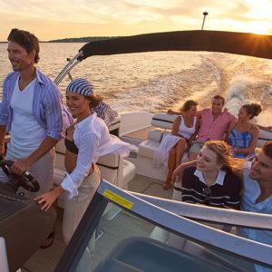 Cobalt R Series R30 Taking Seven Passengers for Sunset Cruise