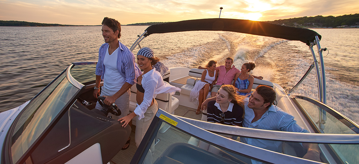 Cobalt R Series R30 Taking Seven Passengers for Sunset Cruise
