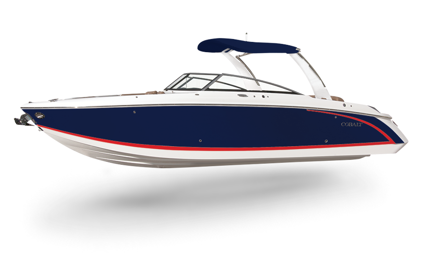 r30 luxry and style in a large bowrider cobalt boats