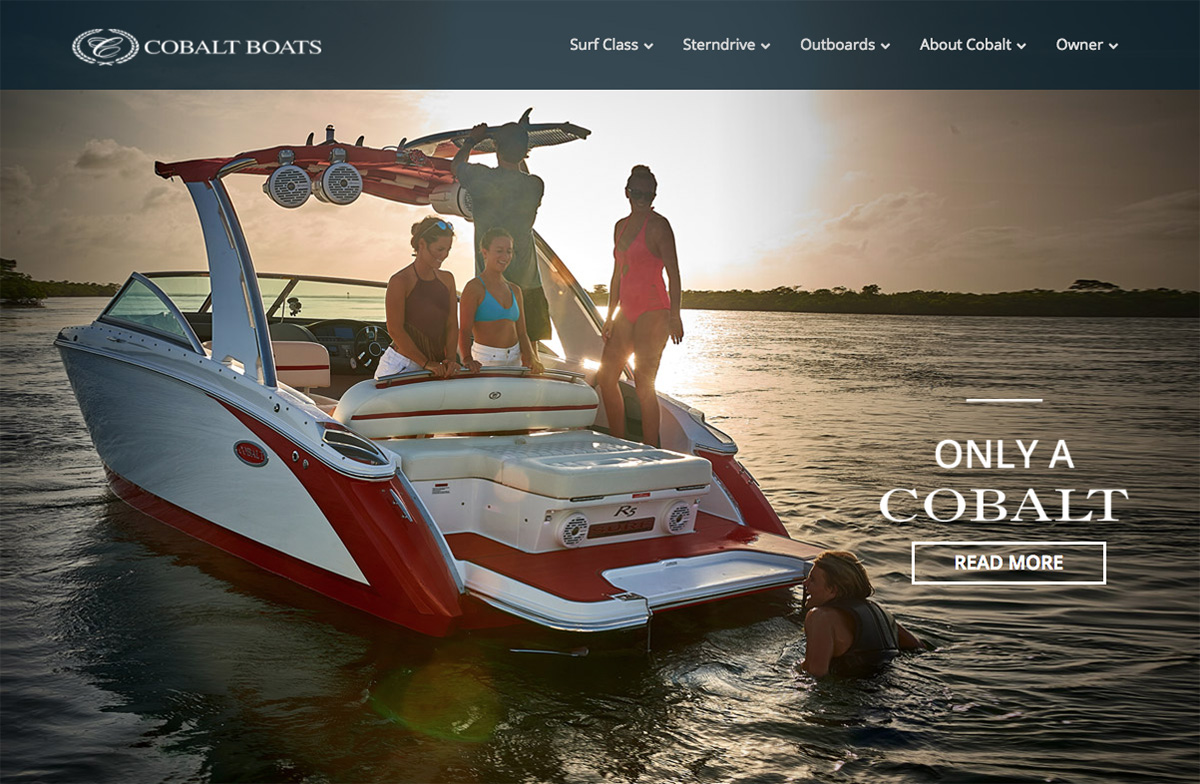 cobalt boats performance and luxury in boating compromise nothing rh cobaltboats com Cobalt Deck Boat Cobalt Boats Yacht