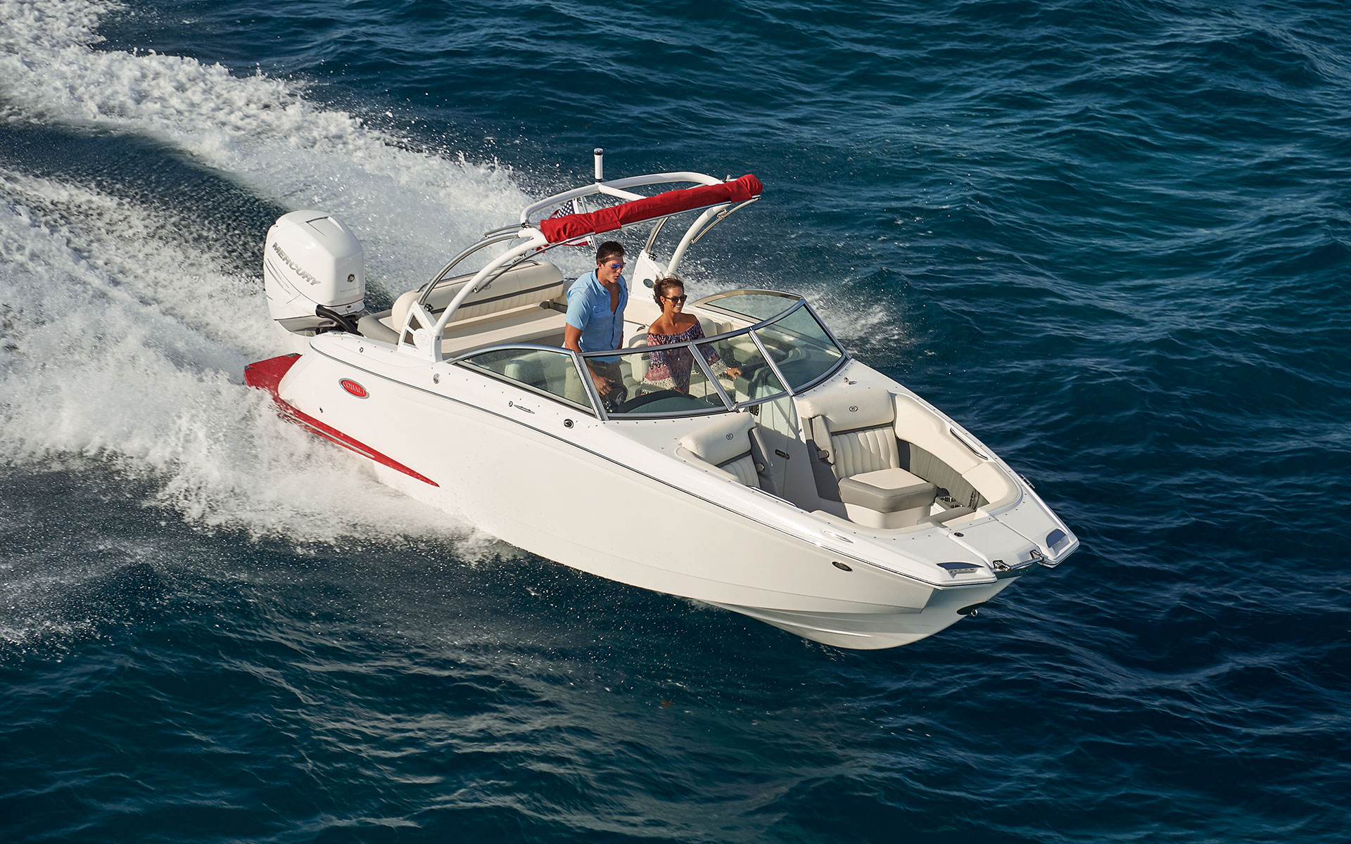 25SC: Outboard Design with Agile Performance   Cobalt Boats