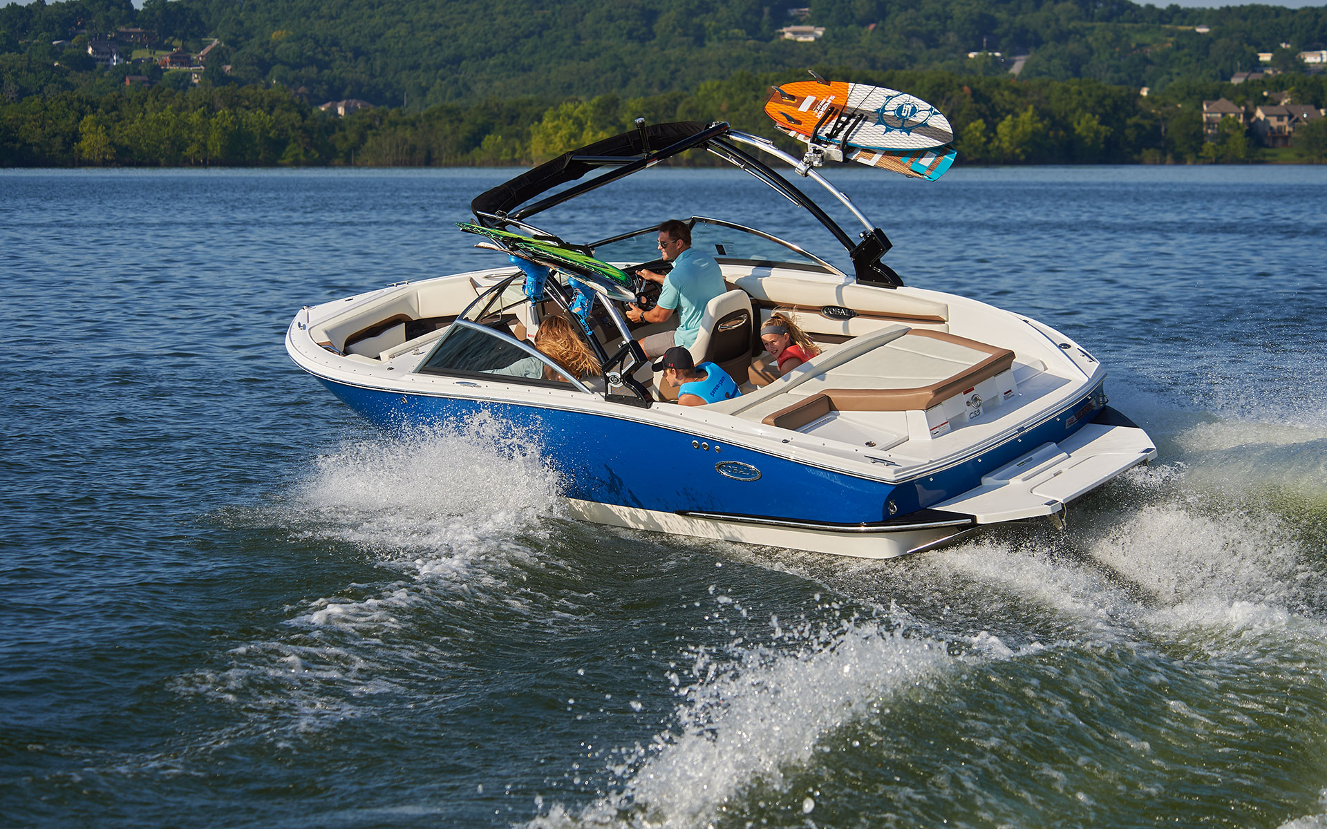 CS23 Surf: Wakesurfing Technology Perfected   Cobalt Boats