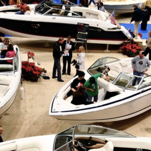 Cobalt Models on Display at the Milwaukee Boat Show
