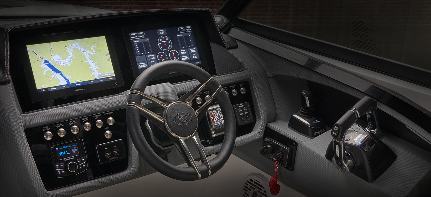 Dash with Touch Screens